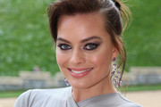 Margot Robbie Loose Bun