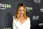 Maria Bello Wrap Dress