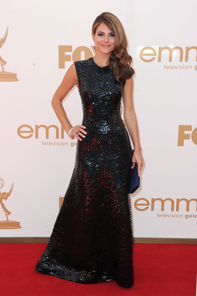 Maria Menounos Beaded Dress