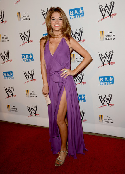 Maria Menounos Evening Dress