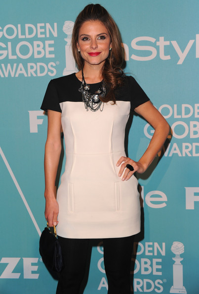 Maria Menounos Diamond Statement Necklace
