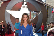 Maria Menounos Wrap Dress