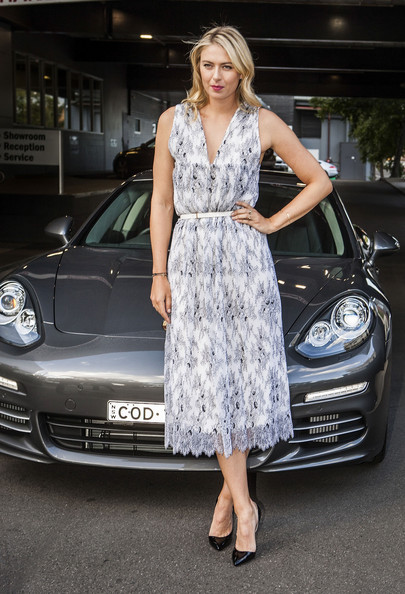 Maria Sharapova Cocktail Dress