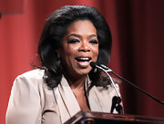 Oprah Winfrey went for a retro look with this voluminous flip at Maria Shriver's 2010 Women's Conference.