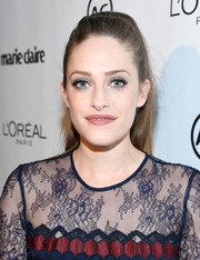 Carly Chaikin sported a retro-chic ponytail when she attended Marie Claire's Image Maker Awards.