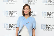 Marion Cotillard Fitted Jacket