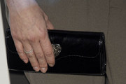 Marisa Jara Leather Clutch