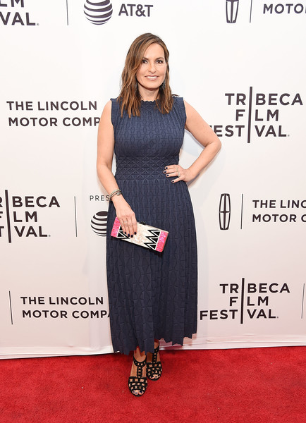 Mariska Hargitay Midi Dress
