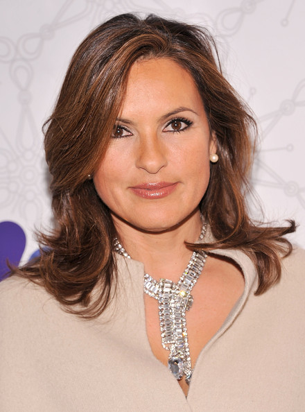 Mariska Hargitay Layered Cut