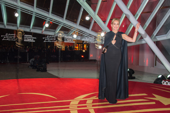 More Pics of Sharon Stone Evening Dress (1 of 41) - Sharon Stone Lookbook - StyleBistro