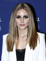 Olivia Palermo sported pin-straight hair at the Martell Cognac 300th anniversary party.