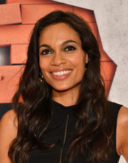 Rosario Dawson looked oh-so-lovely with her long wavy hair at the New York premiere of 'The Defenders.'