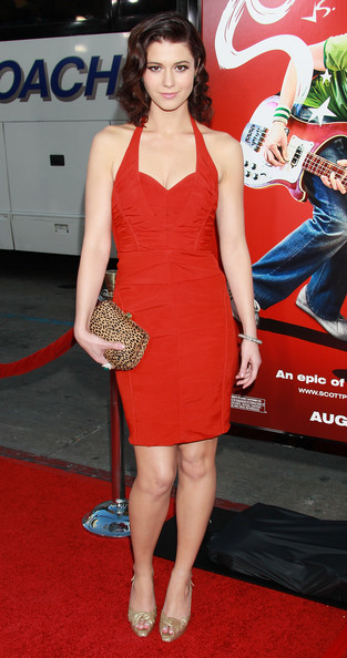 Mary Elizabeth Winstead Halter Dress