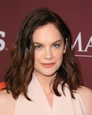 Ruth Wilson rocked an edgy-glam wavy 'do at the Masterpiece photocall.