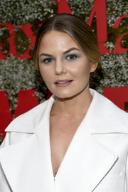 Jennifer Morrison styled her hair into a loose center-parted bun for the InStyle Max Mara Women in Film celebration.