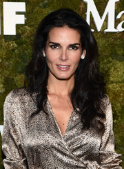 Angie Harmon showed off lovely high-volume waves at the Women in Film Face of the Future Award.