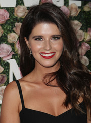 Katherine Schwarzenegger gave us hair envy with her long lush waves at the 2017 Face of the Future event.
