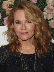 Lea Thompson showed off luxuriant curls at the 2017 Face of the Future event.