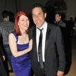 Kate Flannery and Oscar Nunez