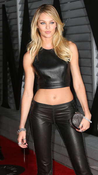 More Pics of Candice Swanepoel Studded Clutch (4 of 6) - Studded Clutch Lookbook - StyleBistro