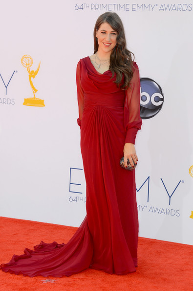 Mayim Bialik Evening Dress