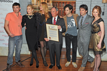 "Blake Lively Ed Westwick Mayoral Proclamation In Celebration Of The ""Gossip Girl"" 100th Episode"