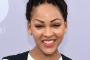 Meagan Good Braided Bun