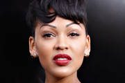 Meagan Good Short cut with bangs