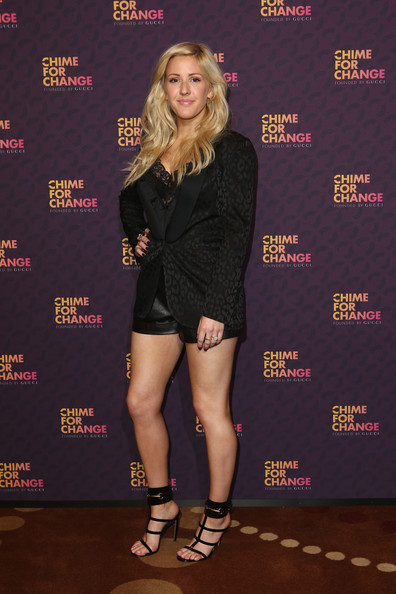 More Pics of Ellie Goulding Pink Lipstick (1 of 5) - Ellie Goulding Lookbook - StyleBistro