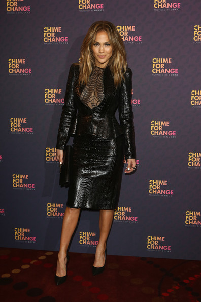 More Pics of Jennifer Lopez Skirt Suit (3 of 10) - Jennifer Lopez Lookbook - StyleBistro