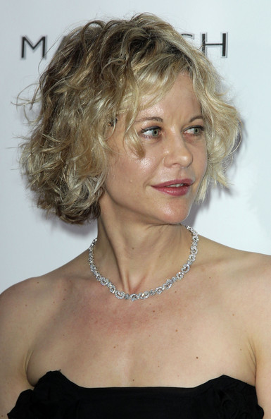 Meg Ryan Curled Out Bob [hair,hairstyle,face,blond,chin,ringlet,shoulder,layered hair,surfer hair,long hair,de grisogono party - arrivals,meg ryan,france,cap dantibes,hotel du cap,party,de grisogono,cannes film festival]