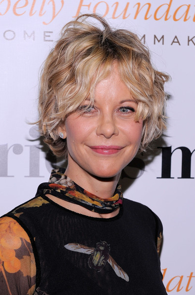 Meg Ryan Curled Out Bob [hair,hairstyle,blond,chin,lip,brown hair,feathered hair,hair coloring,layered hair,neck,arrivals,meg ryan,serious moonlight,cinema 2,new york city,premiere,premiere]