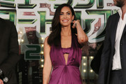 Megan Fox Halter Dress