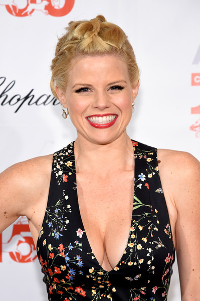 Megan Hilty Braided Updo