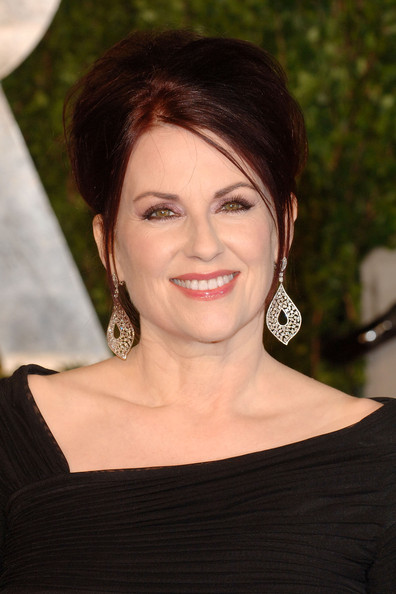 Megan Mullally Dangling Diamond Earrings