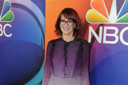 Megan Mullally Shirtdress