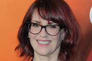 Megan Mullally Short Wavy Cut