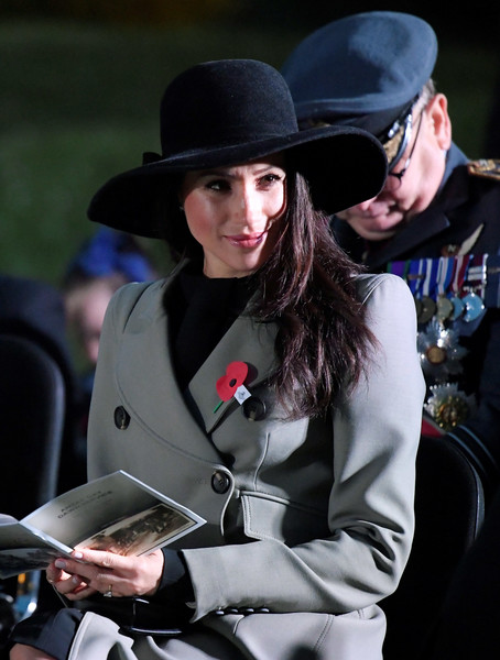 Meghan Markle Wide Brimmed Hat