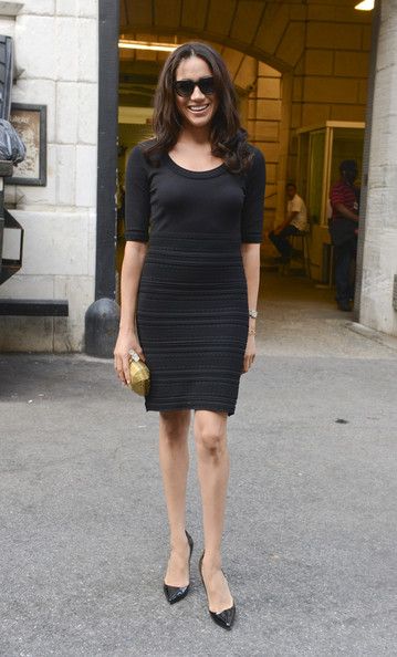 Meghan Markle Little Black Dress