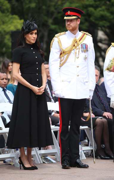 Meghan Markle Shirtdress [uniform,fashion,official,military uniform,event,headgear,girl,tradition,shoe,harry,meghan markle,sussex,australia,duchess,cities,duke of sussex,duke and duchess of sussex visit,opening,tour,prince harry,meghan duchess of sussex,wedding of prince harry and meghan markle,catherine duchess of cambridge,invictus games,duke of sussex,dress,clothing,royal tours of canada by the canadian royal family,fashion]