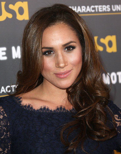 Meghan Markle Long Curls