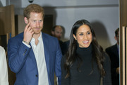 Meghan Markle Over the Knee Boots