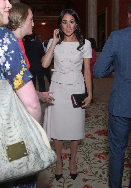 Meghan Markle Skirt Suit