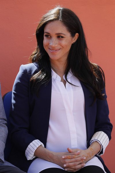 Meghan Markle Henna Tattoo [businessperson,outerwear,white-collar worker,long hair,sitting,employment,harry,meghan markle,founder,michael mchugo,investiture,sussex,duchess,country,duke and duchess of sussex visit morocco,visit,meghan duchess of sussex,wedding of prince harry and meghan markle,royal family,duke of sussex,british royal family,infant,child,royal correspondent,prince harry duke of sussex]
