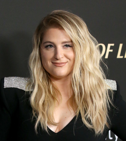 Meghan Trainor Long Wavy Cut [hair,blond,face,hairstyle,layered hair,eyebrow,long hair,beauty,chin,lip,meghan trainor,spirit of life 2019 gala - arrivals,spirit of life 2019 gala,santa monica,california,the barker hanger,city of hope,meghan trainor,the lizzie mcguire movie,los angeles pride,what dreams are made of,photograph,image,thank you]