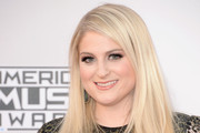 Meghan Trainor Long Straight Cut