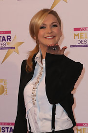 Helene Fischer looked oh-so-charming with her side-swept loose ponytail at the Mein Star des Jahres Awards.