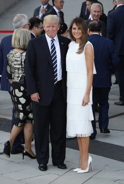 Melania Trump Fringed Dress