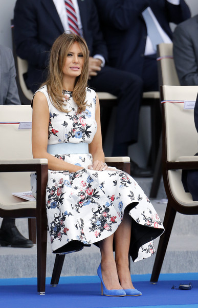 Melania Trump Print Dress