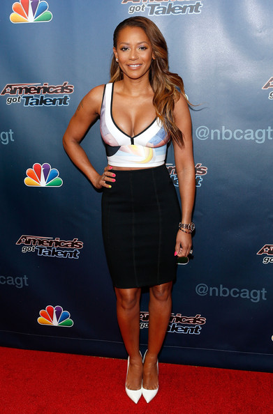 Melanie Brown Pencil Skirt